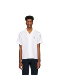 Polo Ralph Lauren White Camp Short Sleeve Shirt