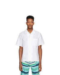 Kenzo White Linen Shirt