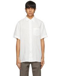 Loro Piana White Oliver Shirt