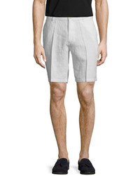 Saks Fifth Avenue Fixed Waist Linen Short
