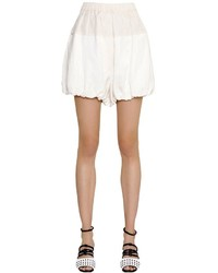 Puffed viscose linen shorts medium 3706295