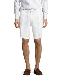 Saks Fifth Avenue Solid Drawstring Linen Shorts
