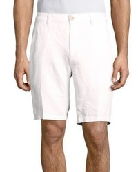 Saks Fifth Avenue Solid Linen Bermuda Shorts