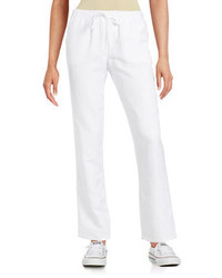 Context Drawstring Linen Pants