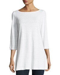 34 sleeve organic linen tunic medium 3719725
