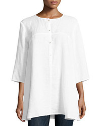 Organic handkerchief linen tunic medium 4016913