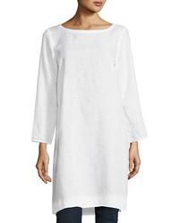 Organic handkerchief linen tunic petite medium 3680125