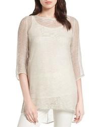 Organic linen blend tunic medium 3684609