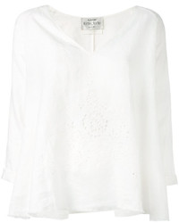 Forte Forte Perforated Trim Tunic