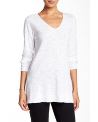 Eileen Fisher Slim Organic Linen Blend Tunic