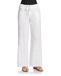 Freesia wide leg linen pants medium 268619