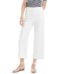 J.Crew Petite Heavy Linen Sailor Pants