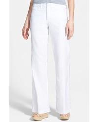 NYDJ Wylie Five Pocket Linen Trousers