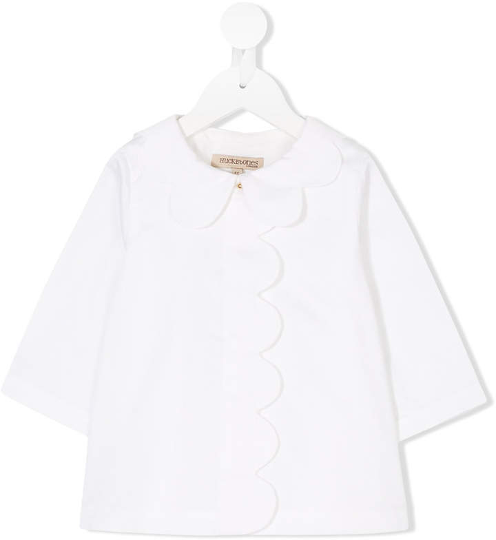 Hucklebones London Scalloped Blouse