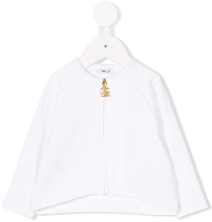 Le Beb Enfant Long Sleeved Zipped Blouse
