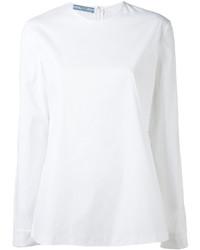 Prada Long Sleeved Blouse