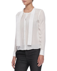 J Brand Ntalya Long Sleeve Blouse
