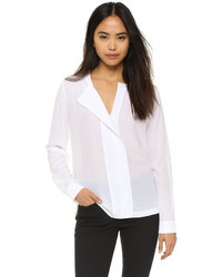DKNY Pure Shirt With Knit Back
