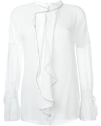 Ruffle detail blouse medium 684797