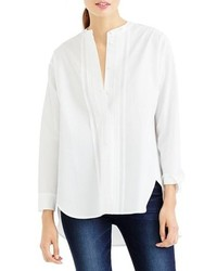 J.Crew Thomas Mason For Collarless Tuxedo Shirt