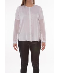 Kenneth Cole New York Tobin Chiffon Blouse