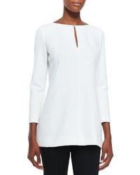 Tunic blouse with keyhole medium 312263