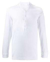 Neil Barrett Buttoned Long Sleeve T Shirt