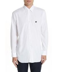 Comme Des Garcons Play Applique Oxford Shirt