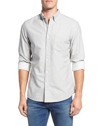 Nordstrom Big Tall Brushed Twill Sport Shirt