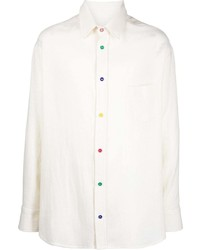 The Elder Statesman Boomslang Long Sleeved Shirt