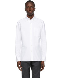 Tom Ford Broadcloth Button Long Sleeve Shirt
