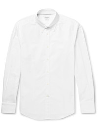 Brunello Cucinelli Button Down Collar Cotton Shirt