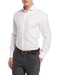 Brunello Cucinelli Button Down Slim Spread Collar Shirt