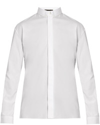 Haider Ackermann Byron Button Down Cotton Shirt