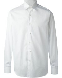Salvatore Ferragamo Cut Away Collar Shirt