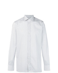 Z Zegna Dotted Pattern Shirt