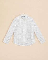 Jacadi Infant Boys Dot Print Dress Shirt Sizes 3 9 Months