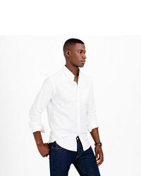 J.Crew Vintage Oxford Shirt In White