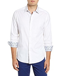 Robert Graham Keaton Regular Fit Button Up Sport Shirt