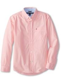 Tommy Hilfiger Kids Classic Ls Woven Shirt Boys Long Sleeve Button Up