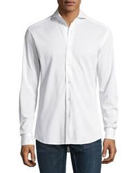 Ralph Lauren Knit Sport Shirt White