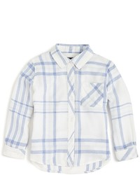 Rails Little Girls Melange Plaid Button Down Shirt Sizes 4 10