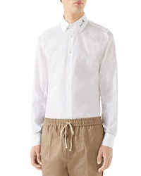 Gucci Logo Collar Shirt