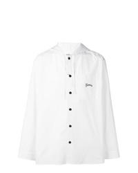 Kenzo Long Sleeved Hooded Shirt