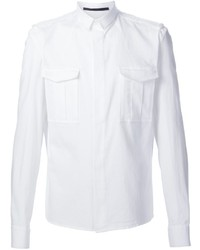 Haider Ackermann Military Style Shirt