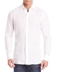 Polo Ralph Lauren Modern Linen Button Down Shirt