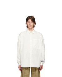 Sunnei Off White Over Shirt