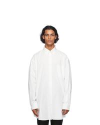 Maison Margiela Off White Oversized Shirt