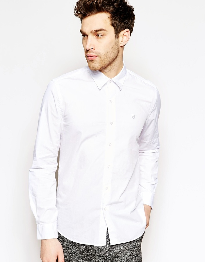 Peter werth shirt with hidden button down collar where for Where to buy button down shirts