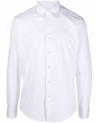 Lanvin Point Collar Cotton Poplin Shirt